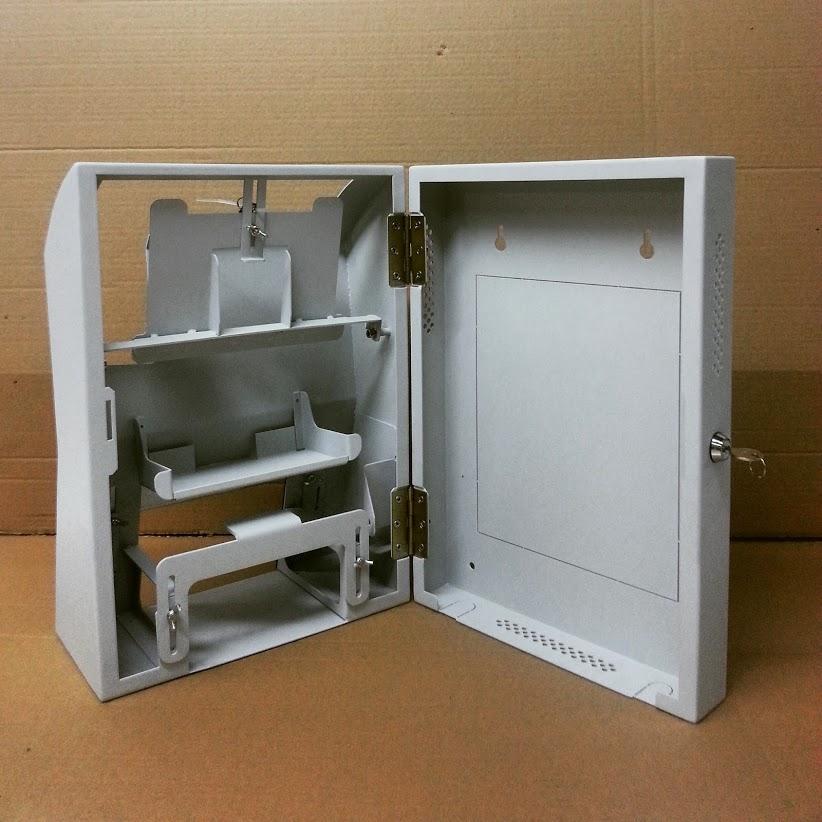 ייצור מארז למכשיר דוח נוכחות משולב מדפסת